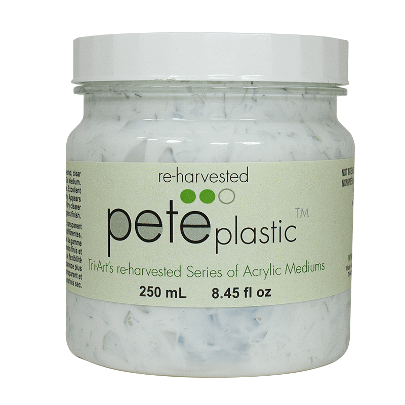 pete plastic medium in jar