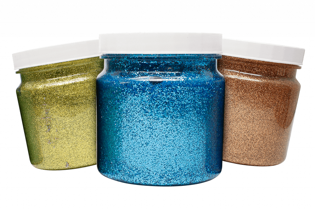 spectral colour paint trio in jars