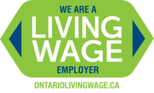 ontario living wage employer logo